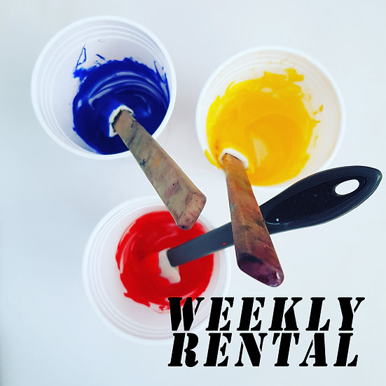 WEEKLY Rental Fees
