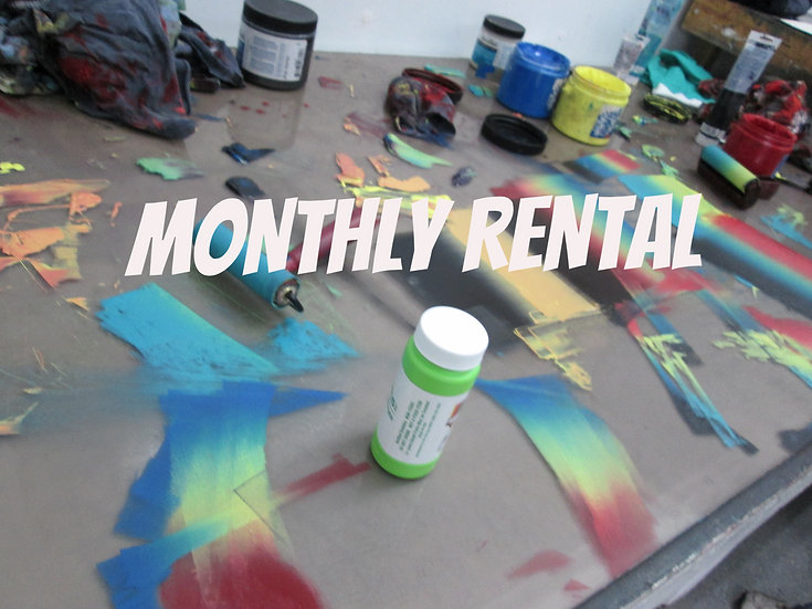 MONTHLY Rental Fees