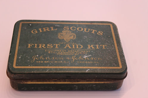 Girl Scouts First Aid Kit