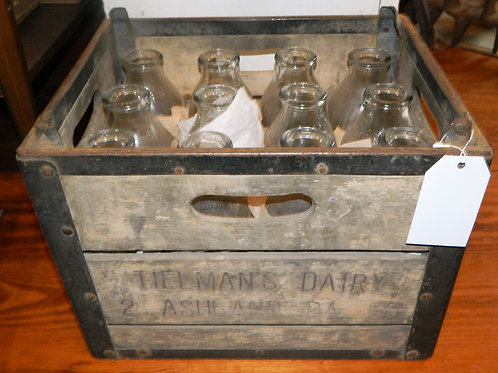 Tielsman Dairy Box with Bottles