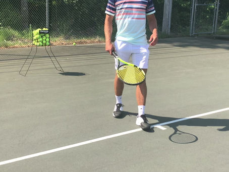 Groundstrokes: Hold The Racket Loose