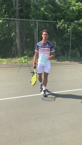 Groundstrokes: String Trajectory