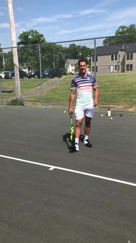 Two Handed Backhand: Lag The Wrist For More Topspin
