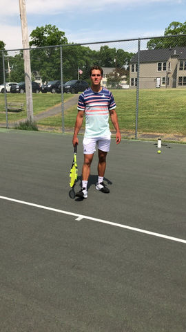 Two Handed Backhand: Rotate Your Feet Around After Contact