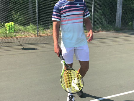 Forehand: Keep The Forehand On The Right Side Of Your Body