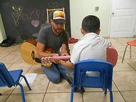 Guitar Class at Orphanage