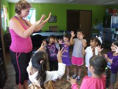 Orphanage Dance Class