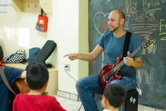 Orphanage Guitar Class