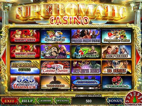 Игровая система Супероматик казино |Superomatic Casino WEBCASH ПОДКЛЮЧИТЬ СУПЕРОМАТИК ИГРАТЬ ОНЛАЙН СУПЕРОМАТИК КАЗИНО АМАТИК ФЛЕШ ВЕРСИЯ СУПЕРОМАТИК ОТЛИЧИЯ ОТ WEBCASH