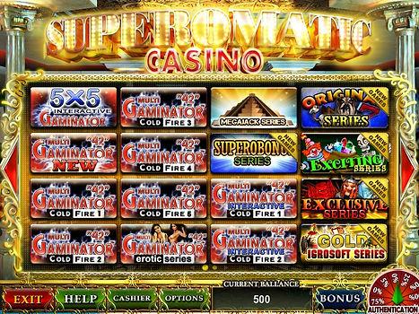 superomatic casino 5.0