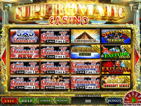 superomatic casino 5.0