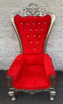 Red Throne chair (Tall Back)