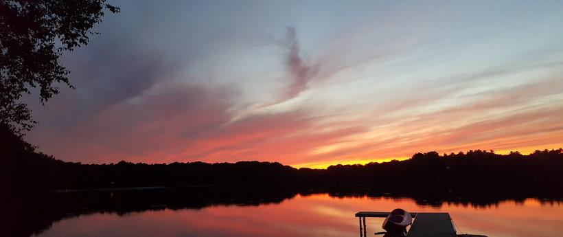 Sunset on Middle Pond