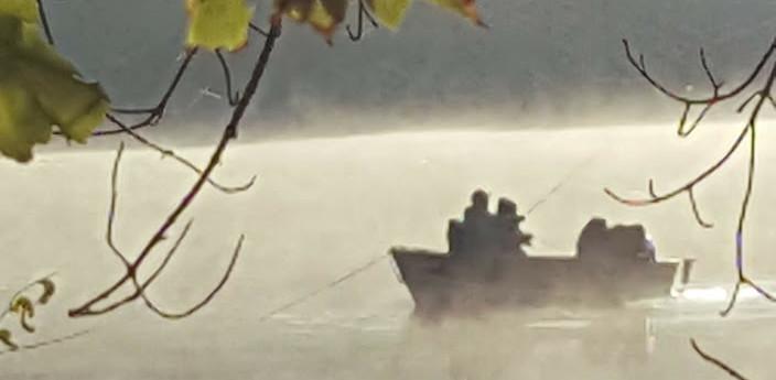 Early morning Fishing on Hamblin Pond