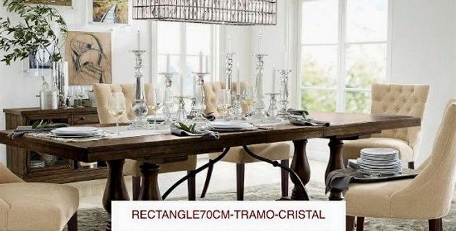 LAMPARA-RECT-70CM-TRAMO-CRISTAL