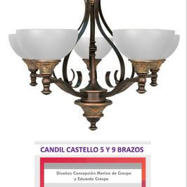 CASTELLO-5-MEDIANO, 60cm diámetro, 60cm alto