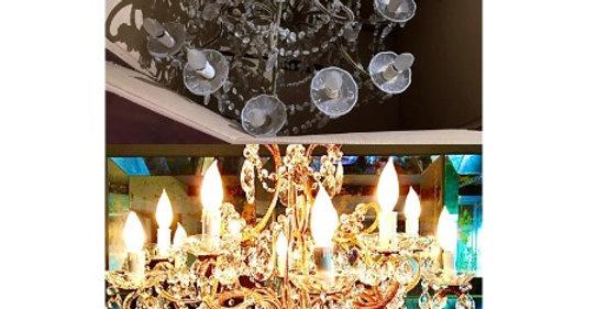 reparación candil clásico