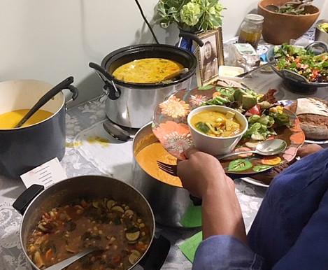 Devotee Soups, Salads & Breads