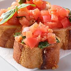 フレッシュトマトとバジルのブルスケッタ(4個)