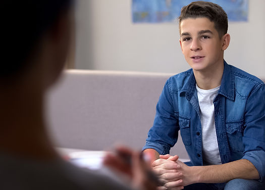 Male teenager on professional skills con