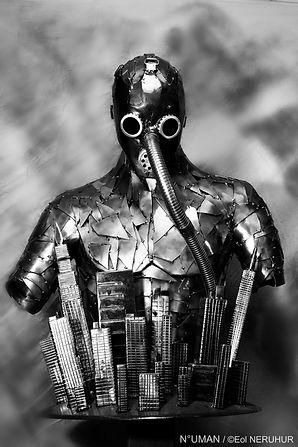 artiste sculpteur metal,n-uman.com