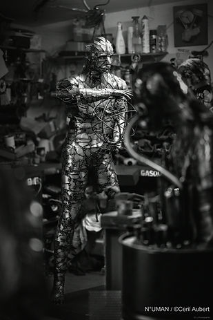 numan sculpteur metal, n-uman.com , n°uman sculptures