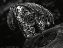 horse metal sculptures - n°uman