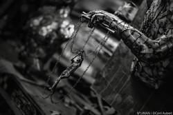 human metal sculptures - n°uman