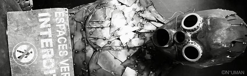 human metal sculptures