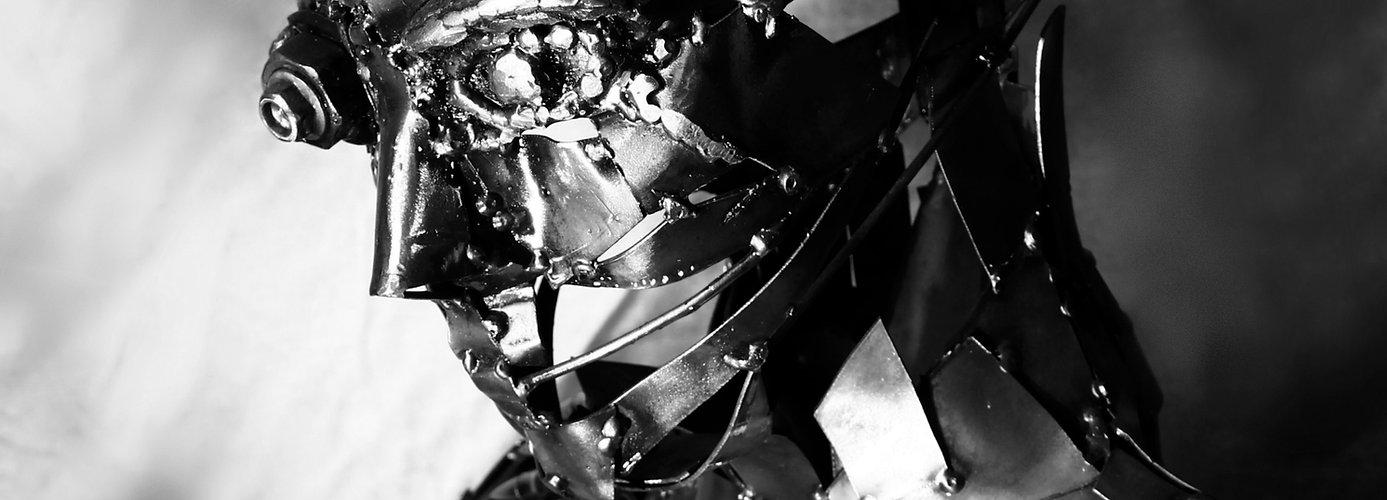 n°uman - cyborg metal - human metal art