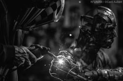 n°uman - atelier sculpteur metal