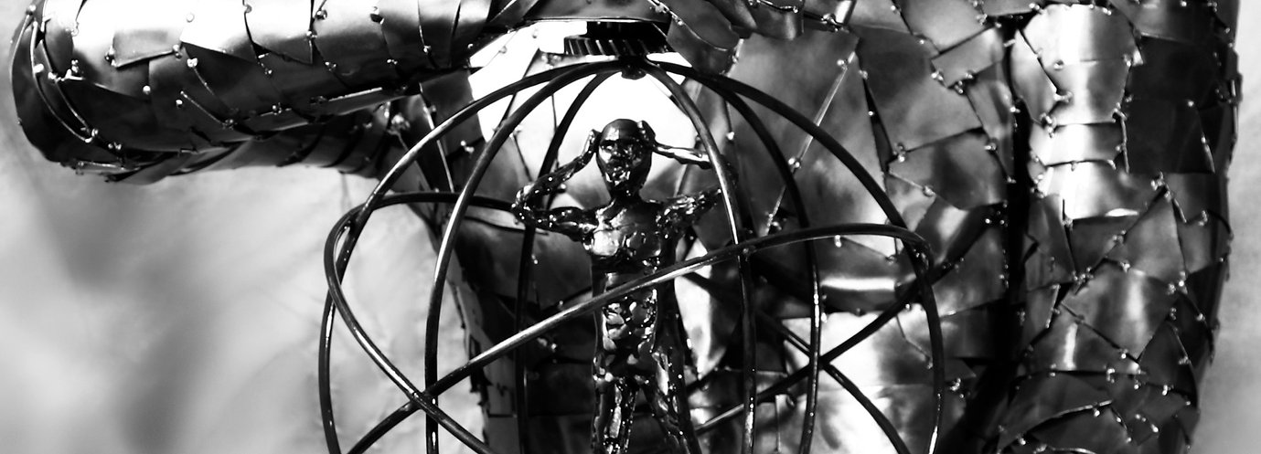 sculpteur metal numan , n-uman.com , human metal sculpture