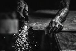 artist metal sculptures - n°uman