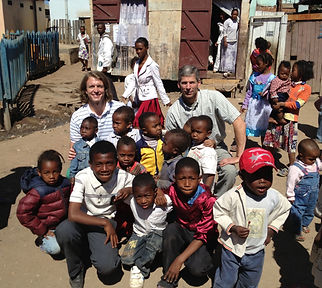 Making new friends in Antananarivo, Madagascar