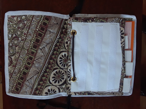 Large Fabric Communication Folder