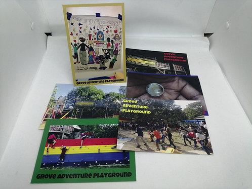 Post Card Set of 6