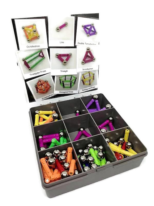 Magnetic Learning Geometry & Communication Toy Box from Talking In Pictures
