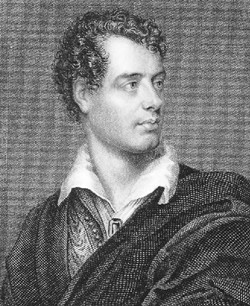 Lord Byron in Kefallonia