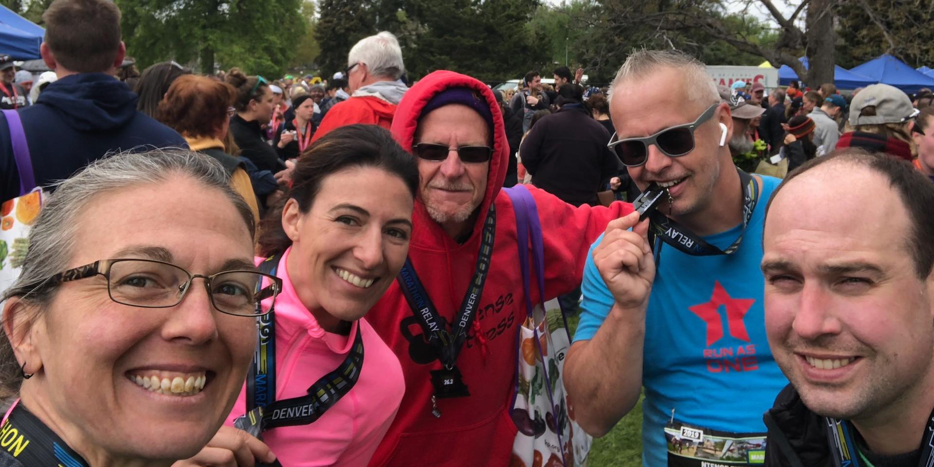Colfax Marathon Relay