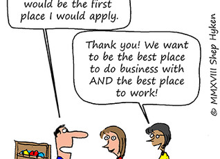 Again, Great Customer Experience is the Grail