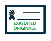 EXPEDITED ORIGINALS