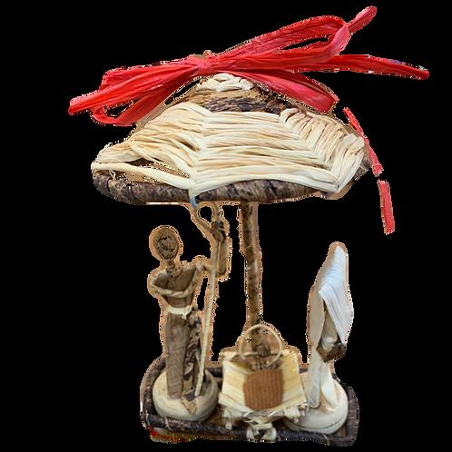 Umbrella Nativity