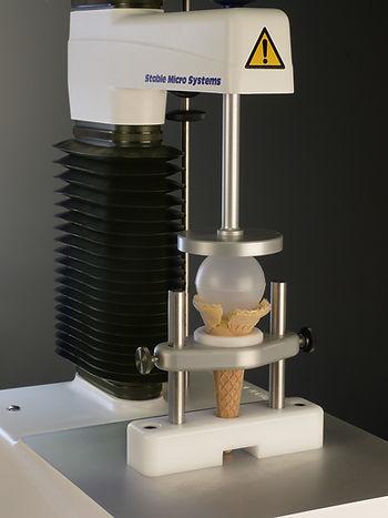 A/ICC 霜淇淋蛋捲測試裝置