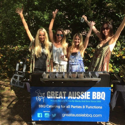 Hands up for the Great Aussie BBQ