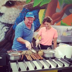 Wardy BBQ with Joyce