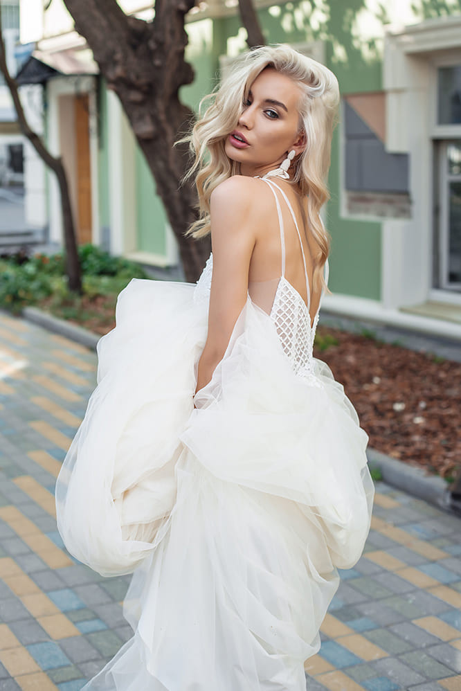 Whitney #1936 Lezardi by Your Bridal Look