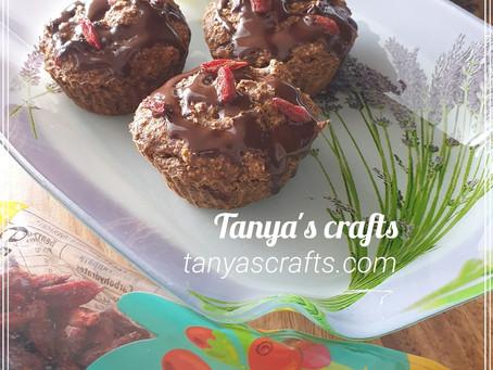 Шипково - овесени кексчета с годжи бери