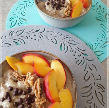 Закуска за шампиони с прасковен йогурт