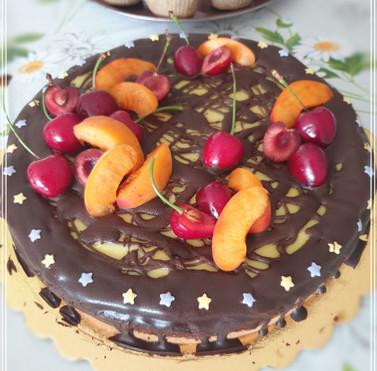 """Торта 🍒 """"Дунавски вълни"""""""