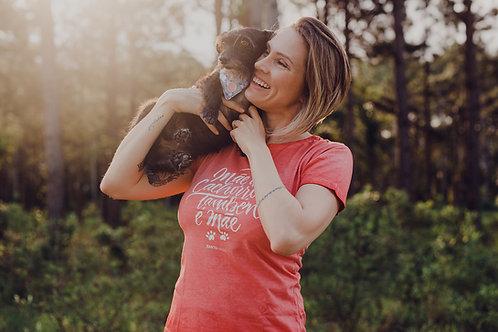Blusa estonada Mãe de Cachorro